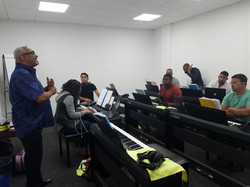 Mariano Teaching in Aruba Ministry of Culture