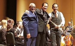 Mariano, Nestor Torres and Guillermo Figueroa