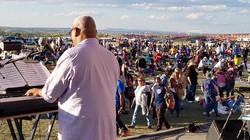 Performing in the Albuquerque Balloon Fiesta