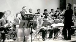 Mariano Morales conducting Latin American Music Ensemble Indiana University 1989
