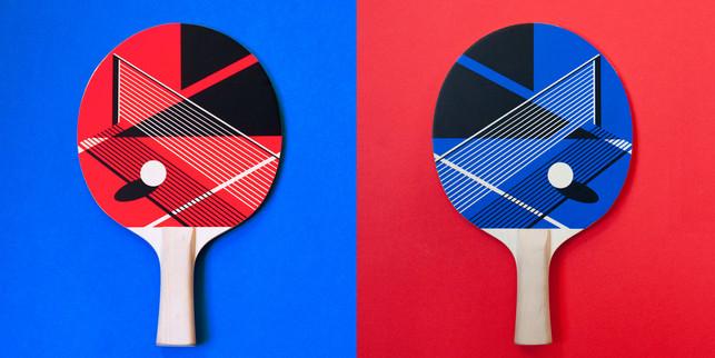Malika Favre x Art Of Ping Pong