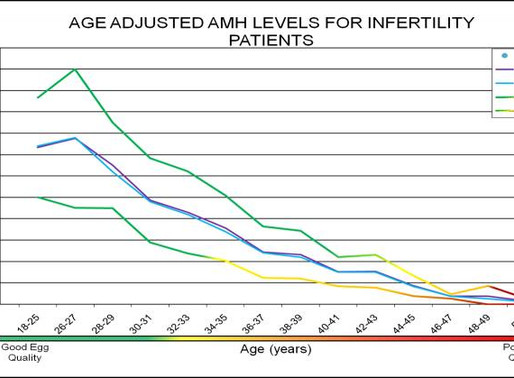 Age Adjusted Anti-Müllerian Hormone Levels For Infertility Patients