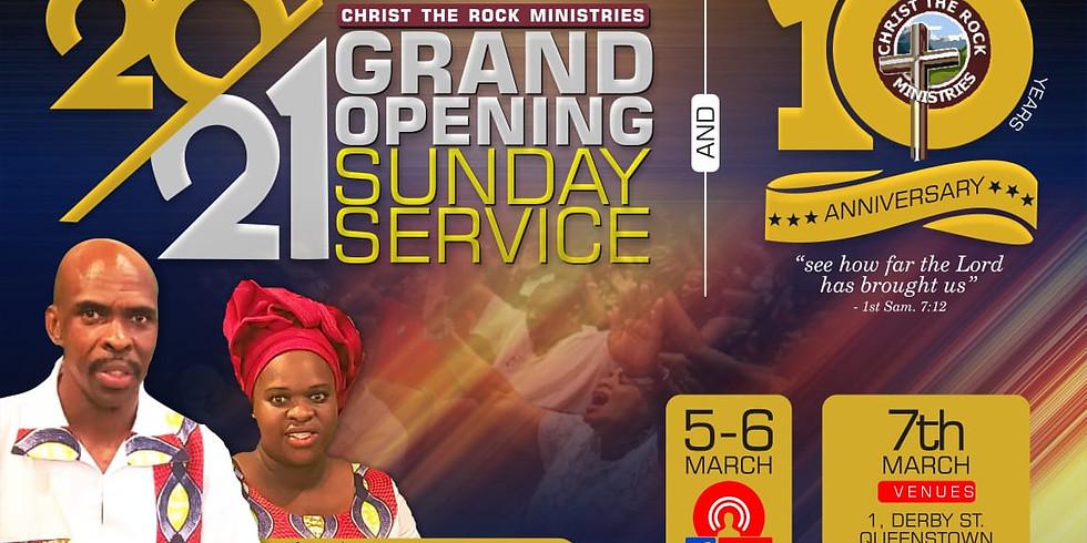 Church 10th Anniversary