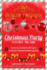 Christmas Party Bexley Premier Restauran