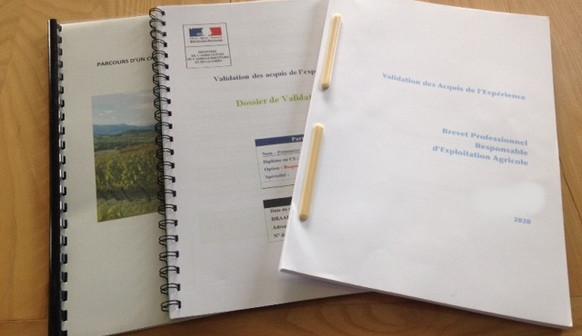 Dossiers VAE BPREA - Agence Cauri