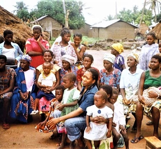 First Village Discussion with the Women