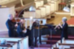 Artistic Directors Dean Stein, violin and Kathleen McNerney, oboe.