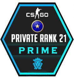 Conta CSGO Prime Promoção Unranked Random Wins 2-8 Private Rank 21+☑️Full Access