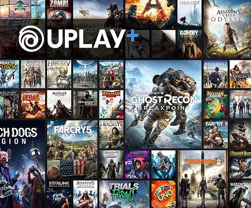 UPLAY+ | Mais de 100 jogos Na biblioteca