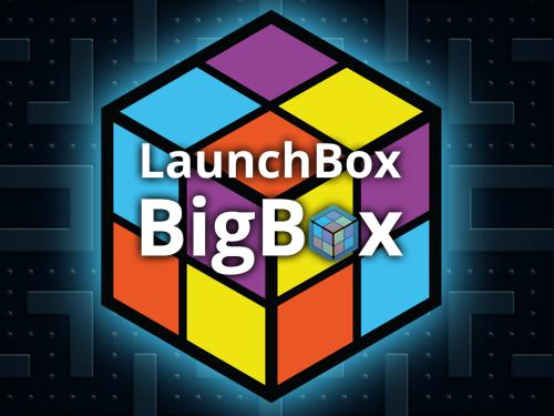 LAUNCHBOX PREMIUM BIGBOX (FOREVER) + SUPER SISTEMA 440GB ROMS GAMES