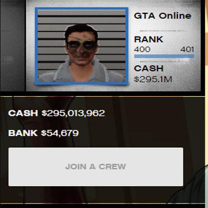 GTA 5 Conta Modded | $500 Milhões | 400 Rank/Level | Tudo Desbloqueado + Bunker