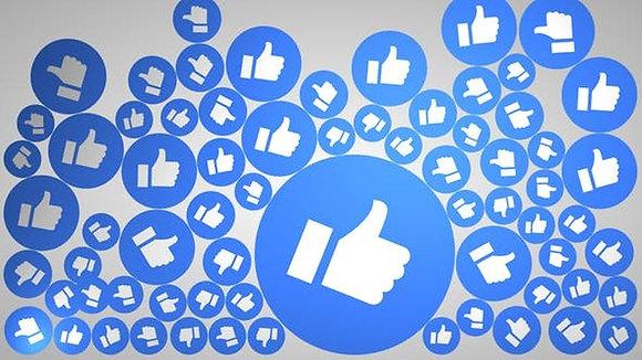 """FaceBook """"Page Likes"""" Likes na pagina"""