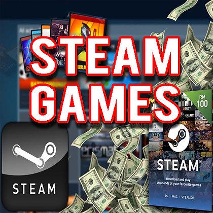 Conta Steam com jogos de até 400 Reais