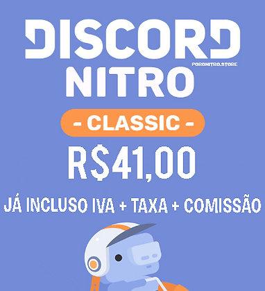 Discord Nitro Classic 1 Mês (Mais barato)