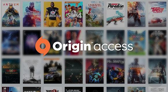 ORIGIN ACCESS / PREMIER | 250 jogos na biblioteca (duração anual)
