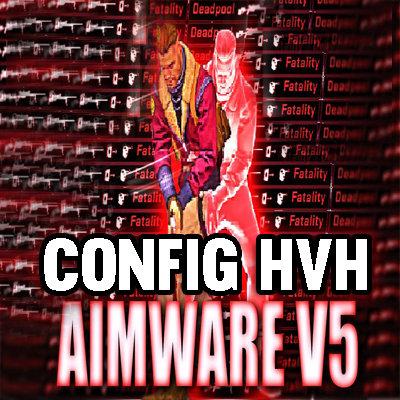 Aimware v5 HvH Config Pack v5 (private)