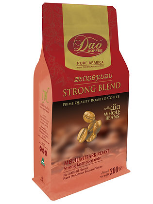 Strong Blend Whole Beans Coffee