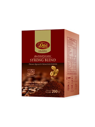 Strong Blend Ground Beans Coffee