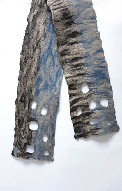 Brush Effect Felted Wool Fibers - byCananOral