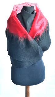 Wool Felting on Chiffon - byCananOral