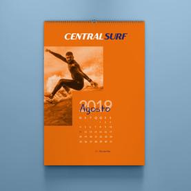 Calendário Central Surf