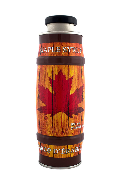 Maple Barrel Tin 500ml Dark