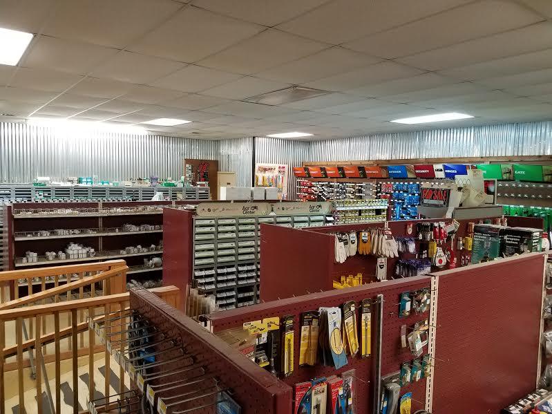 hardware area