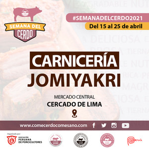 SEMANA DEL CERDO 2021 - CARNICERIA JOMIY