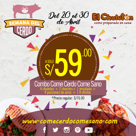 S/59.00 | EL CHULETÓN