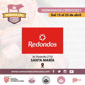 SEMANA DEL CERDO 2021 - REDONDOS - SANTA