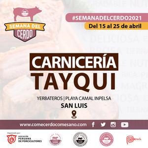 SEMANA DEL CERDO 2021 - CARNICERIA TAYQU