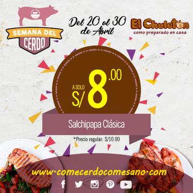 S/8.00 | EL CHULETÓN