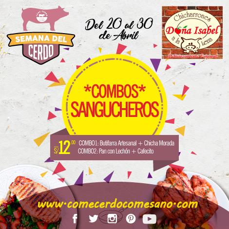 Combos Sandwicheros | DOÑA ISABEL