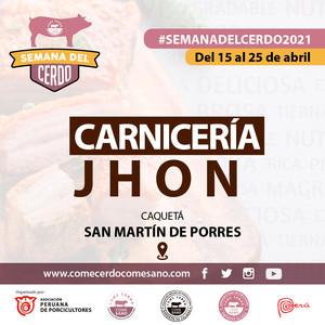 SEMANA DEL CERDO 2021 - CARNICERIA JHON.