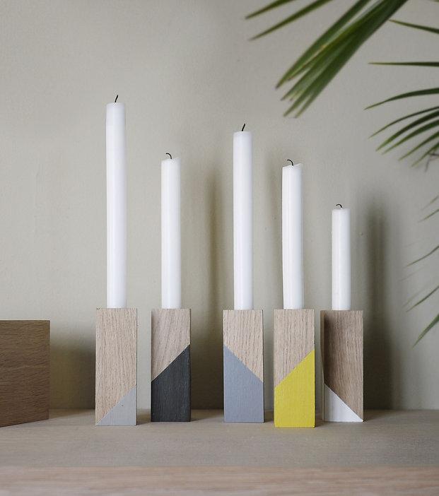 creation française, decoration scandinave, bougeoir bois, design scandinave, wood design, chandelier bois