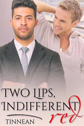 Two Lips, Indifferent Red by Tinnean