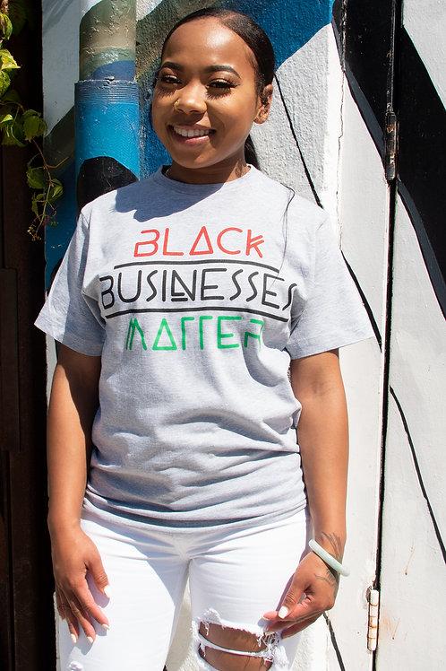 BLACK BUSINESSES MATTER (Unisex)