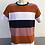 Thumbnail: Marinières bandes larges 4 couleurs manches au choix