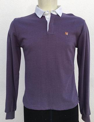 Polo violet manches au choix