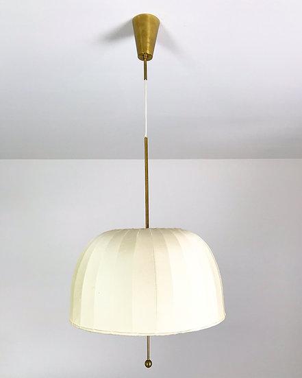 Hans-Agne Jakobsson Pendant Brass & Silk 1960s