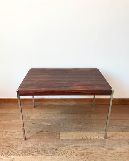Uno & Östen Kristiansson Side Table Rosewood 1960s