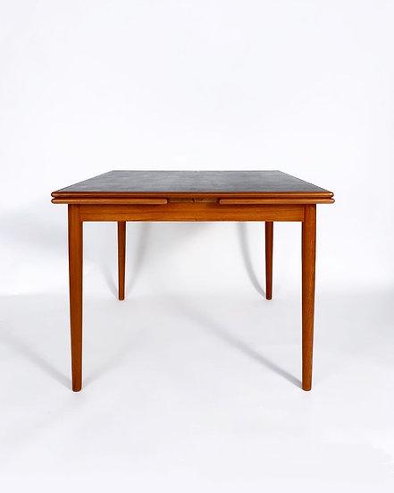 Danish Dining Table or Game Table Teak Georg Petersen 1960s