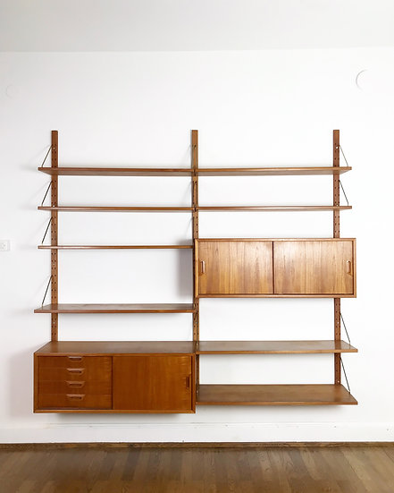 Sven Ellekaer Wall Unit for Albert Hansen 60s