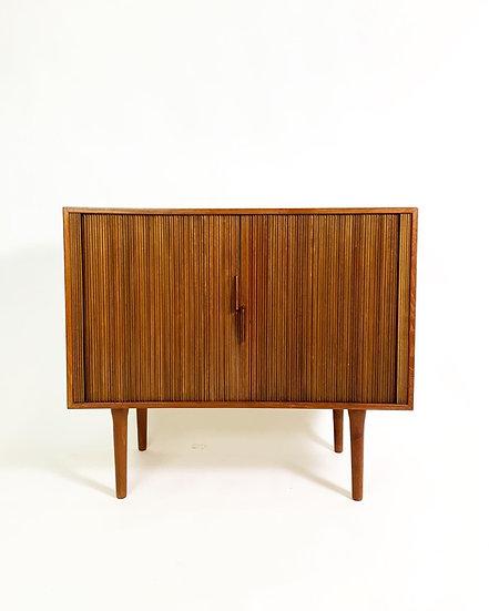 Kai Kristiansen Tambour Door Chest Feldballes Furniture 1960s