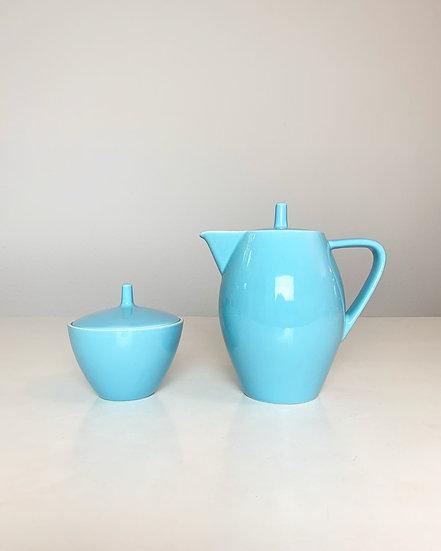 Rössler Coffee Pot & Sugar Bowl Carona 1960s