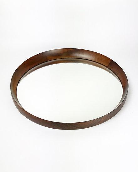 Danish Mirror Rosewood Circular Th. Poss EFTF 1960s
