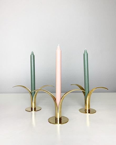Liljan Candle Holders Ystad-Metall Sweden 1940s