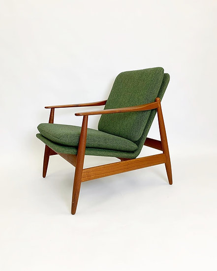 Poul Volther Lounge Chair Frem Røjle Denmark 1960s