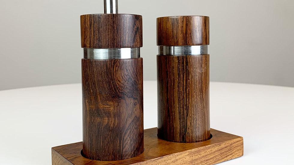 Sven Petersen Pepper Mill & Salt Shaker Rosewood 60s