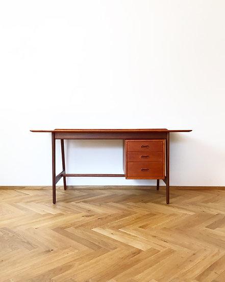 Arne Vodder & Anton Borg Desk Teak Vamo 60s